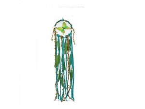 Pagan/Wiccan Green butterfly dreamcatcher 91cm