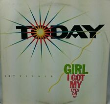 Girl I got my eyes on you today                 LP Record