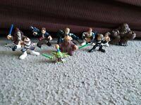 LFL Hasbro Star Wars Action Figure Lot of 10 Action Figures 2008 GREAT LOT