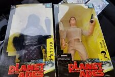 Lot of 2 Hasbro Special Ed. Planet of the Apes Attar and Major Leo Davidson