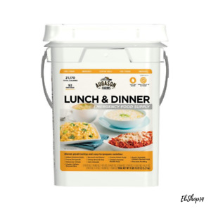 Emergency SOS Survival Food Prepper Meals 30 Day Supply 4 Gal Lunch Dinner Meal
