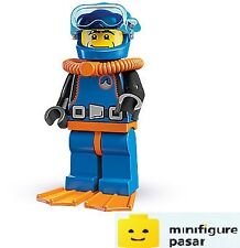 Lego 8683 Collectible Minifigure Series 1: No 15 - Deep Sea Diver - New SEALED
