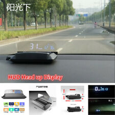OBD2 HUD Mirror Head-Up Display Car Speed Projector Water Temp Mileage Reflect