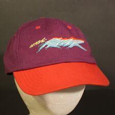 Yamaha Wave Raider Trucker Hat Cap Snapback Hipster Retro Purple Red