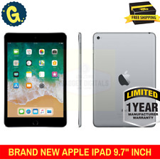 "Brand New Apple iPad 9.7"" inch 2017 Space Grey 128GB WiFi Tablet 1 Year Warranty"