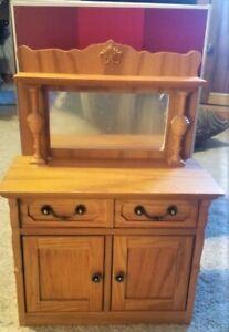 """Rebecca Retired Sideboard American 18"""" Girl Doll furniture wood cabinet NEW! NIB"""
