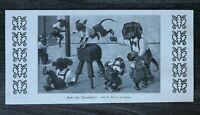LPZ) Kunst Blatt Arthur Thiele 1913 Turnstunde Dackel Teckel Dachshund Sport ++