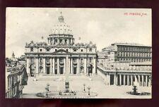 ITALY 1912 PPC ST PIERRE SPECIAL SOUVENIR
