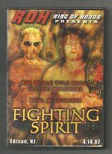 ROH Fighting Spirit Ring of Honor CZW WWE TNA Chikara DGUSA EVOLVE WXW IPW NOAH