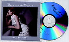 FLORENCE & THE MACHINE Breaking Down UK 1-trk promo test CD And +