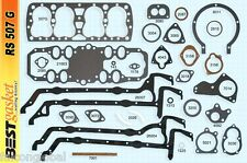 Ford 221 21-stud Flathead Full Engine Gasket Set/Kit BEST w/GraphTite 1932-38*