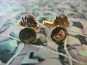 Northumberland Fusiliers Cuff Links