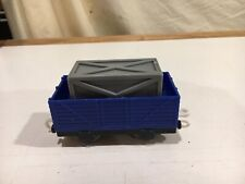 Thomas and Friends Trackmaster Blue Truck with Crate V1579