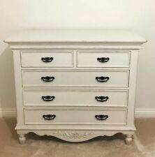 Barker and Stonehouse Romance White Chest Of Drawers French Rustic/Chateau/Chic