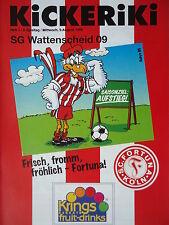 Programm 1995/96 SC Fortuna Köln - SG Wattenscheid