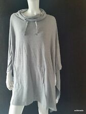 Marc O´POLO Poncho Talla S/M Light Carbón NUEVO