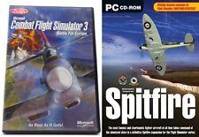 combat flight simulator 3 & spitfire