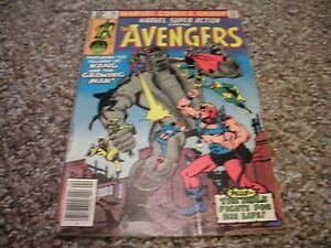 Marvel Super Action # 30 (1981) MARVEL COMICS VF