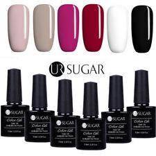 6 Bottles UV Gel Nail Polish Set 7.5ML Soak Off Gel Nails Manicure UR Sugar Lot