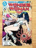 🗝🔥WONDER WOMAN #68 BOLLAND COVER DC COMICS 1992 VF/NM