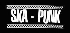 SKA-PUNK Patch / Aufnäher NEU Punk Punkrock Oi! SKA SKINHEAD Pogo Rude Oi