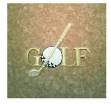 Golf - Golfing - Sports Patch - Embroidered Iron On Patch - Crafts, Shirt Logo