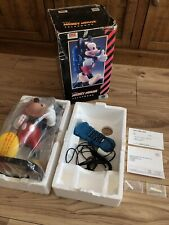 Disney Mickey Mouse Backpack Telephone Tyco WORKING BOXED ORIGINAL PACKAGING