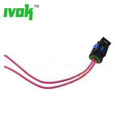 Engine Coolant Temperature Temp Sensor Connector Rear/Front Standard TX3A