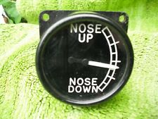 ww2 raf spitfire nose up down instrument replica ideal for panel