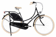 "Damenrad Hollandrad 28"" Tussaud schwarz 3-Gang KS Cycling 343H"
