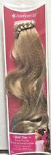American Girl Doll Hair Doll Dos - Curly Ponytail in Blonde NEW 8+