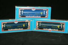 (3) MODEL POWER 51' CYLINDRICAL HOPPER CARS HERITAGE FUND HO SCALE TRAIN