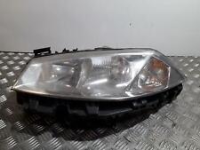 Headlight RENAULT MEGANE 2002-2006  PASSENGER Left N/S Headlamp