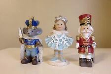 Mini World Nutcracker Figurines  Miniatures New Ballerina Mouse King Nutcrackers