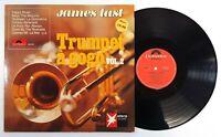 """LP Vinyl 12"""" Ex James Last Trumpet A Gogo Vol2 Polydor 249161 Germany 1968 250EA"""