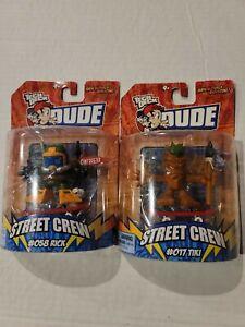 TECH DECK DUDE - STREET CREW 58 RICK AND 17 TIKI