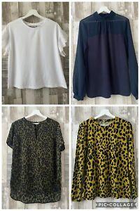 Warehouse Leopard Tops & T-Shirt Bundle Size 14