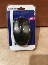 Verbatim 98106 Black Wired Notebook Optical Mouse