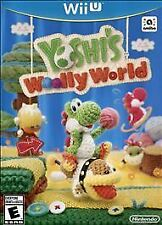 YOSHI'S WOOLLY WORLD * NINTENDO Wii U * BRAND NEW FACTORY SEALED!
