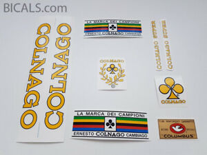 COLNAGO SUPER 71-74 decal set sticker complete bicycle FREE SHIPPING