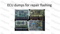 ECU dumps for repair flashing
