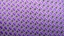 ENGLISH LAUNDRY LAVENDER SILVER BLOCKS DECO POLY NECKTIE TIE MJN1419B #E19