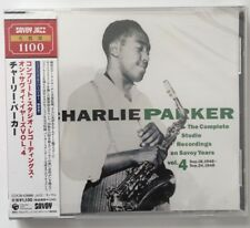 Charlie Parker - Complete Studio Recording on Savoy Years, Vol.4     CD  NEUF