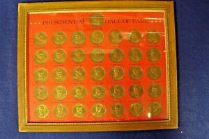 37 Presidential Hall of Fame Coin Set Washington-Nixon