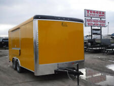 8.5x16 16ft Yellow 2019 Concession Food Tacos Street Bbq Vending Trailer