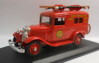 Eligor 1/43 Scale Diecast Model 1083 FORD 1934 V8 1932 FOURGON POMPIERS SAN FRAN