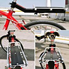 Back Rear Rack Alloy Bike Bicycle Seat Post Frame Carrier Holder Cargo Racks Hot