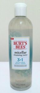 Burt's Bees Micellar Cleansing Water 3in1 Removes Makeup Cleanses Hydrates 12 oz