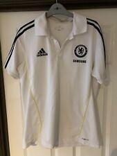 2011/2012 Chelsea training polo football shirt large men's Adidas Samsung CFC