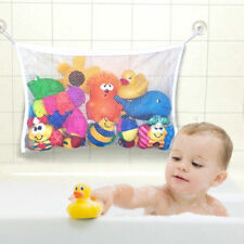 Kids Baby Bath Toy Tidy Storage Suction Cup Bag Mesh Bathroom Organiser Net UK